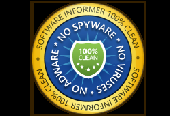 100% Clean certified from software.informer.com